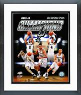 San Antonio Spurs 2014 NBA Finals Champions Framed Photo
