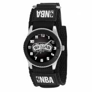 San Antonio Spurs Black Rookie Kids Watch