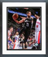 San Antonio Spurs Marco Belinelli 2014-15 Action Framed Photo