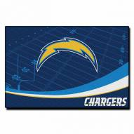 """San Diego Chargers 39"""" x 59"""" Area Rug"""
