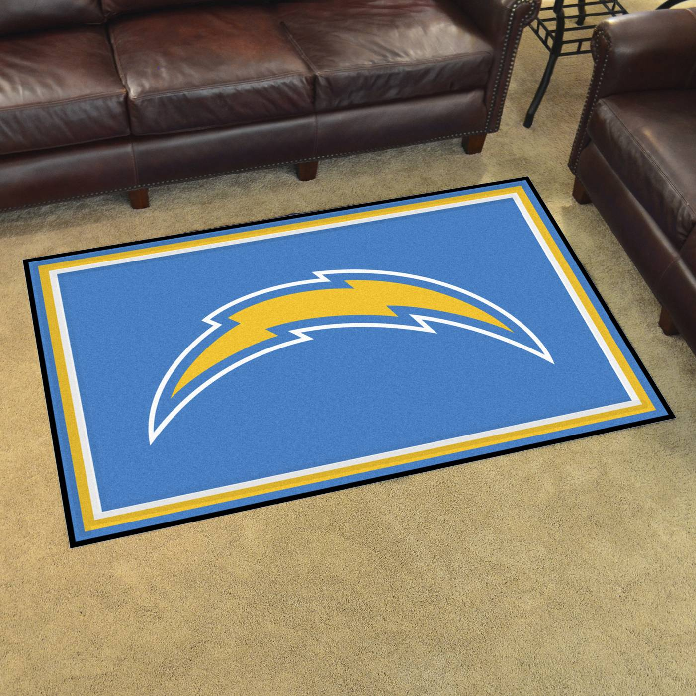 San Diego Chargers 4 X 6 Area Rug
