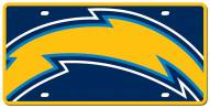 San Diego Chargers Acrylic Mega License Plate