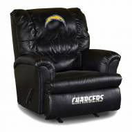 San Diego Chargers Big Daddy Leather Recliner
