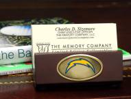 San Diego Chargers Business Card Holder
