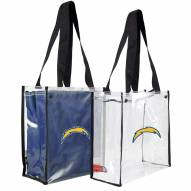 San Diego Chargers Convertible Clear Tote