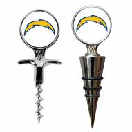 San Diego Chargers Cork Screw & Wine Bottle Topper Set