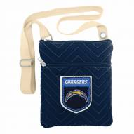 San Diego Chargers Crest Chevron Crossbody Bag