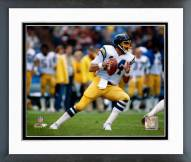 San Diego Chargers Dan Fouts Action Framed Photo