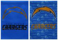 San Diego Chargers Double Sided Glitter Flag