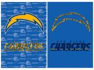 San Diego Chargers Double Sided Glitter Garden Flag