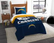 San Diego Chargers Draft Twin Comforter Set