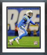 San Diego Chargers Eric Weddle 2014 Action Framed Photo