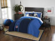 San Diego Chargers Full Comforter & Sham Set