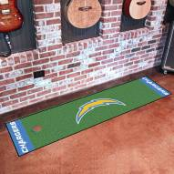San Diego Chargers Golf Putting Green Mat