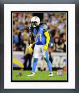 San Diego Chargers Jahleel Addae 2014 Action Framed Photo