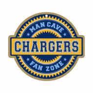 San Diego Chargers Man Cave Fan Zone Wood Sign