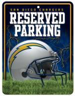 San Diego Chargers Metal Parking Sign