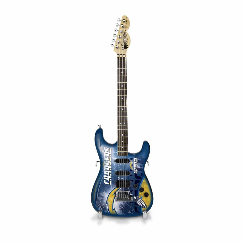 San Diego Chargers Mini Replica Guitar
