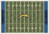 San Diego Chargers NFL Home Field Area Rug