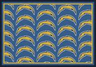 San Diego Chargers NFL Repeat Area Rug