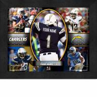 San Diego Chargers Personalized Framed Action Collage