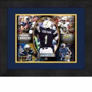 San Diego Chargers Personalized 13 x 16 Framed Action Collage