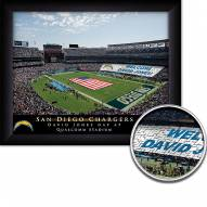 San Diego Chargers Personalized Framed Stadium Print