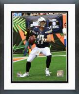 San Diego Chargers Philip Rivers 2015 Action Framed Photo