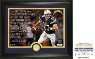 San Diego Chargers Philip Rivers Quote Bronze Coin Photo Mint