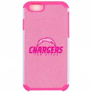 San Diego Chargers Pink Pebble Grain iPhone 6/6s Case