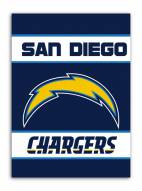 San Diego Chargers NFL Premium 2-Sided House Flag
