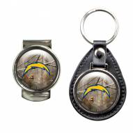 San Diego Chargers RealTree Key Chain & Money Clip