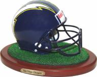 San Diego Chargers Replica Football Helmet Figurine