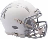 San Diego Chargers Riddell Speed Mini Replica Ice Football Helmet