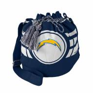 San Diego Chargers Ripple Drawstring Bucket Bag