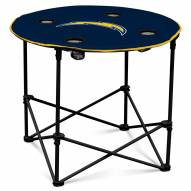 San Diego Chargers Round Folding Table