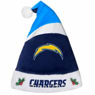 San Diego Chargers Santa Hat