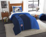 San Diego Chargers Twin Comforter & Sham Set