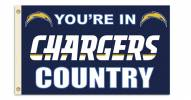 "San Diego Chargers ""You're In Chargers Country"" Flag"