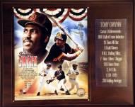 "San Diego Padres 12"" x 15"" Tony Gwynn Career Stat Plaque"