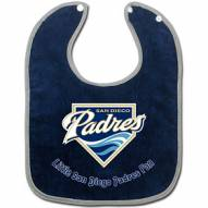 San Diego Padres All Pro Little Fan Baby Bib