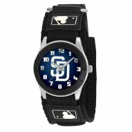 San Diego Padres Black Rookie Kids Watch