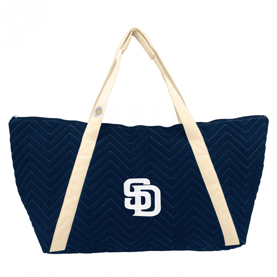 San Diego Padres Chevron Stitch Weekender Bag