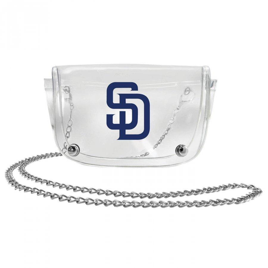 San Diego Padres Clear Waistpack