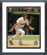 San Diego Padres Fred Lynn Action Framed Photo