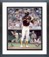 San Diego Padres Gary Templeton Action Framed Photo