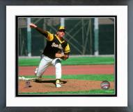 San Diego Padres Gaylord Perry 1979 Action Framed Photo