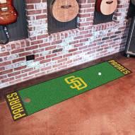 San Diego Padres Golf Putting Green Mat