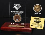 San Diego Padres Infield Dirt Etched Acrylic