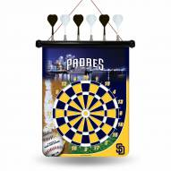 San Diego Padres MLB Magnetic Dart Board